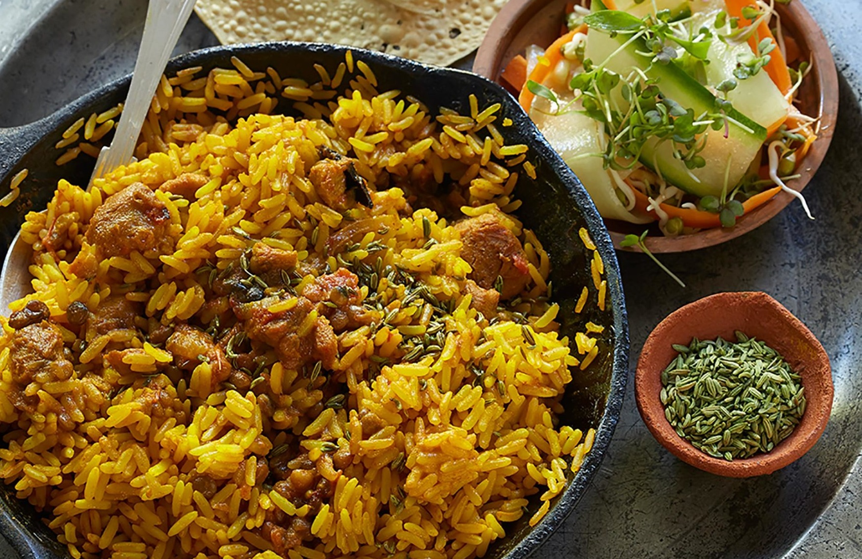 Meat Free Chicken Biryani